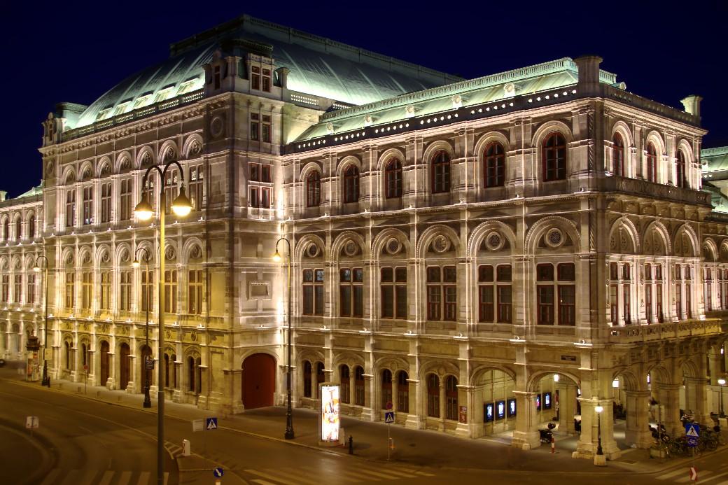 A Áustria ficou em 4º lugar no ranking de países mais seguros do mundo, de acordo com o Global Peace Index 2019. Na foto, Ópera Nacional de Viena, capital austríaca (foto: Eduardo Vessoni)