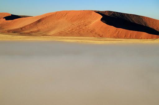 Voo dde balão no Deserto da Namíbia (foto: Eduardo Vessoni)