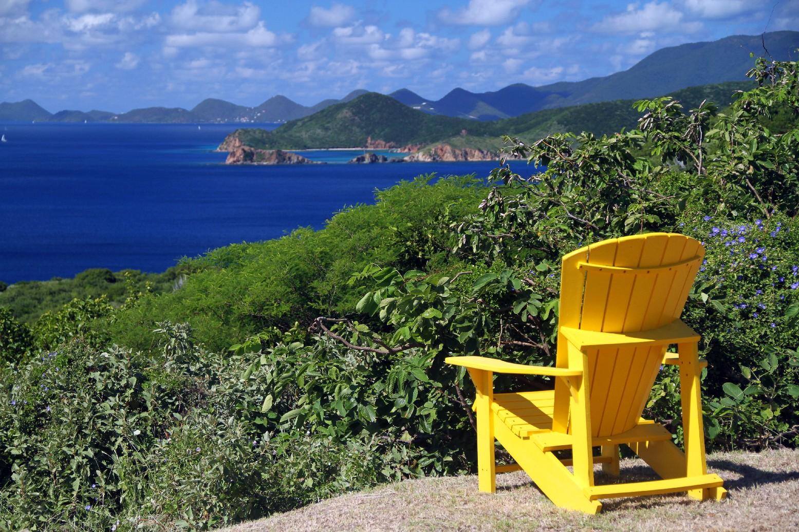 Peter Island é uma ilha privativa com 1620 hectares com faixas de areias banhadas pelas águas do Caribe, do oceano Atlântico e do canal Francis Drake
