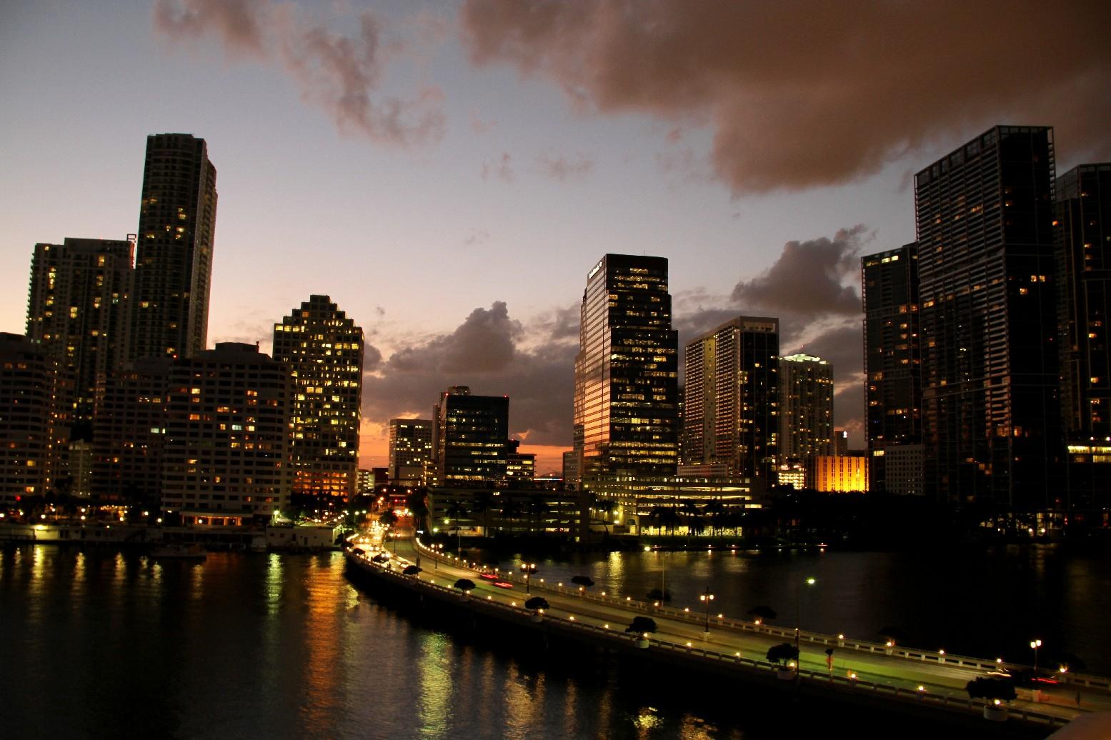 Região de Brickell, em Miami (foto: Eduardo Vessoni)
