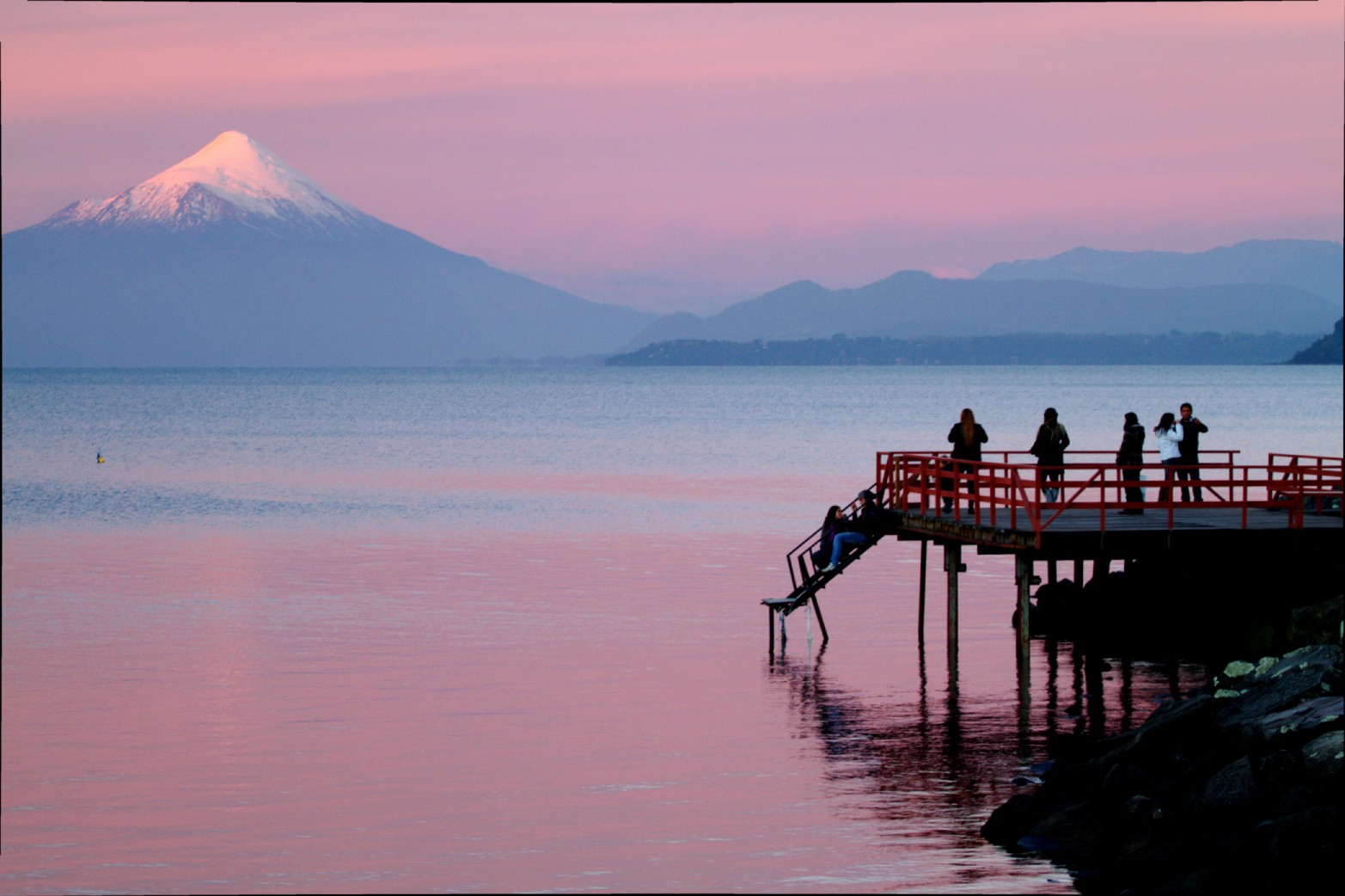 Vulcão Osorno, em Porto Varas, no Chile (foto: Eduardo Vessoni)