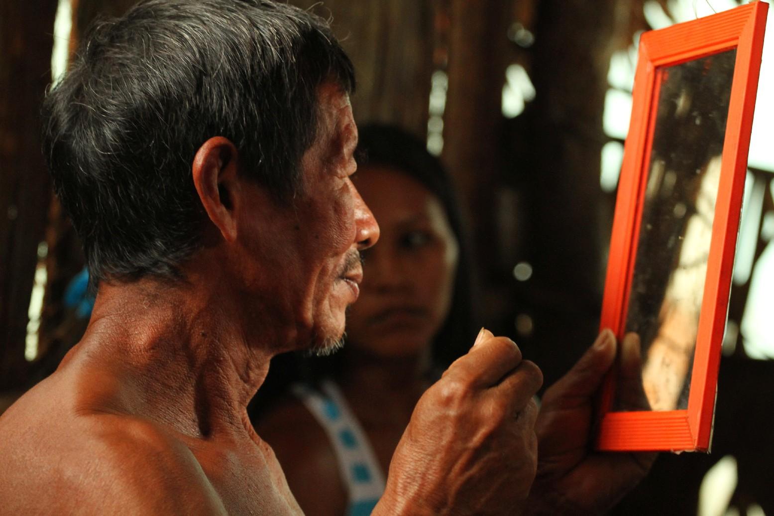 Comunidade Bayaroá, na periferia de Manaus (foto: Eduardo Vessoni)