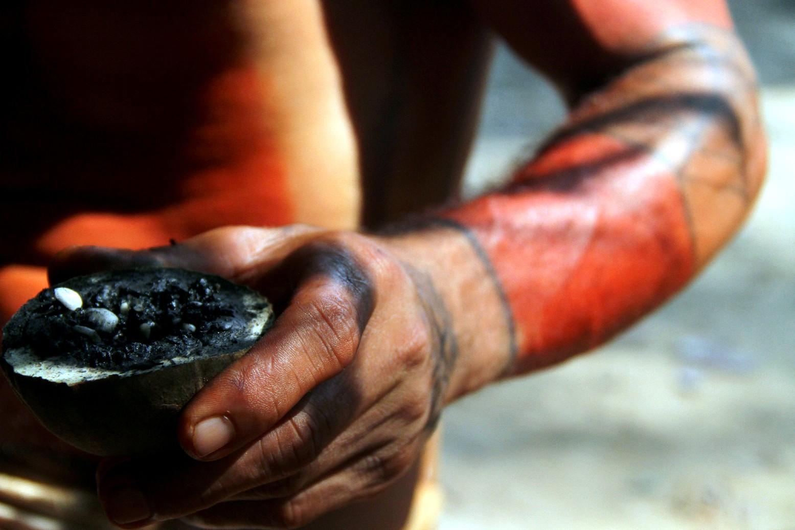 Índio Kambeba, em Manacapuru, Amazonas (foto: Eduardo Vessoni)