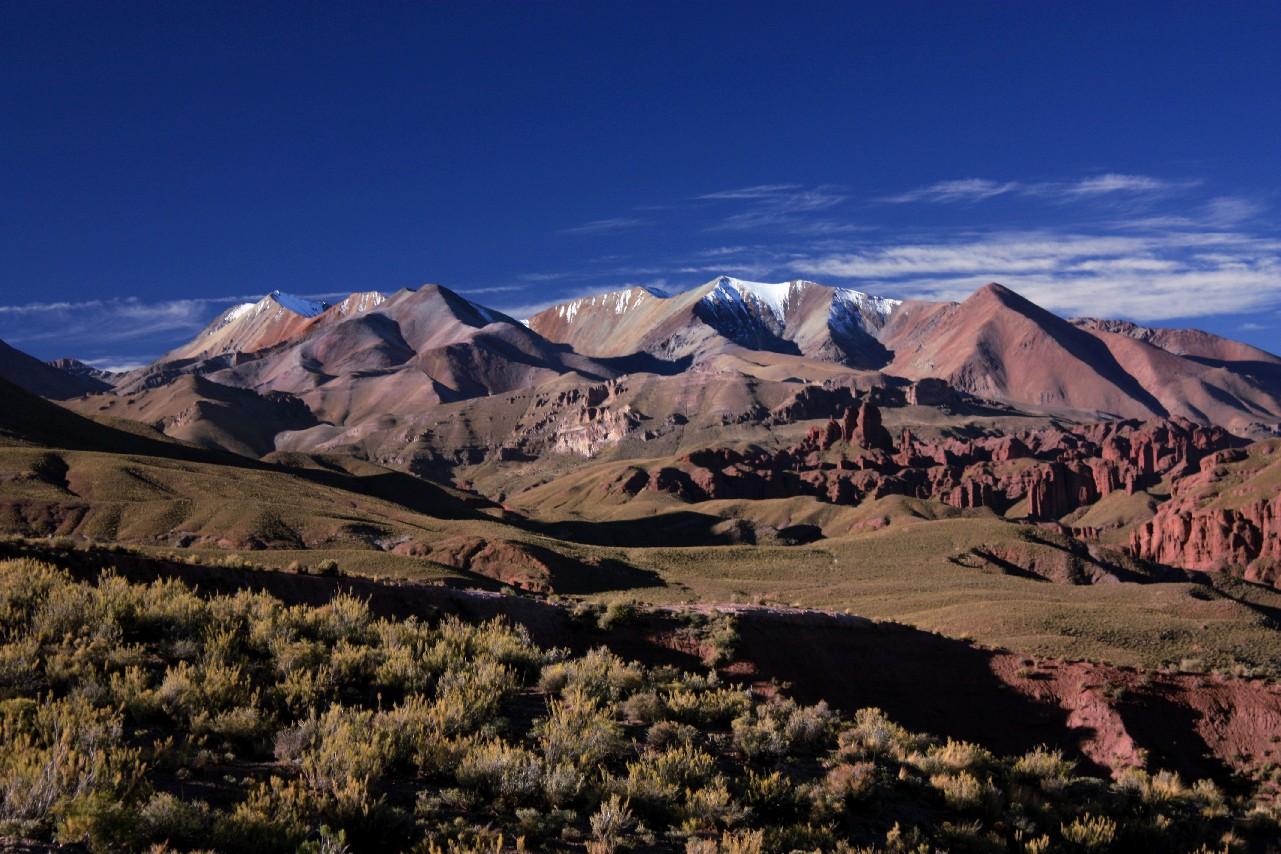 Vista de Bonete Palca, na Bolívia (foto: Eduardo Vessoni)