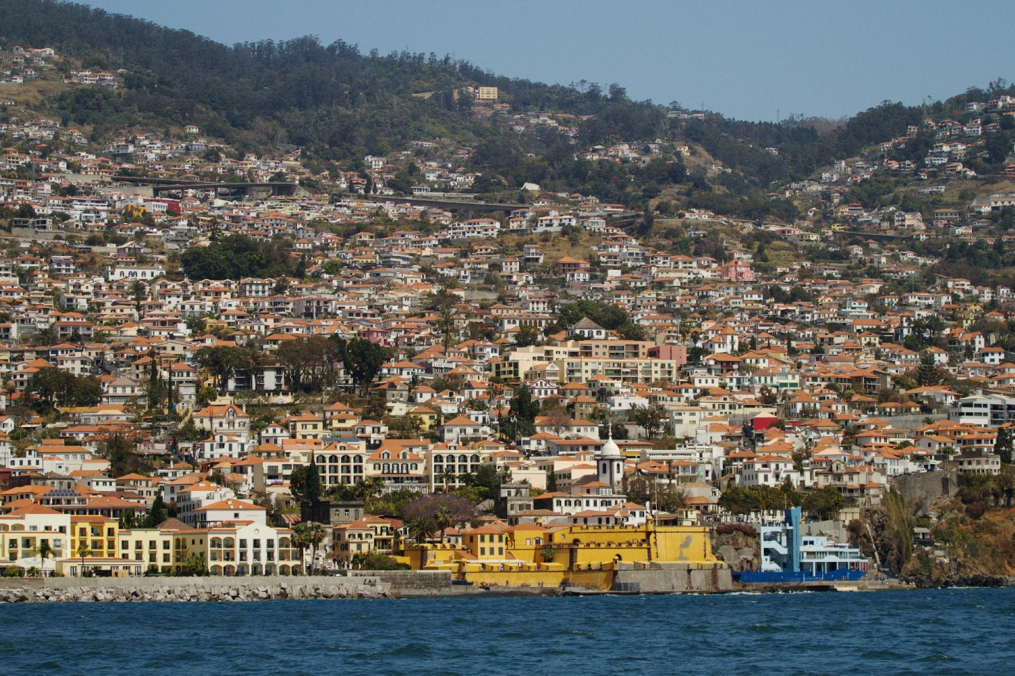 Portugal ficou em 1º lugar na lista de preferências dos brasileiros. Na foto, vista da Ilha da Madeira ( foto: Eduardo Vessoni)