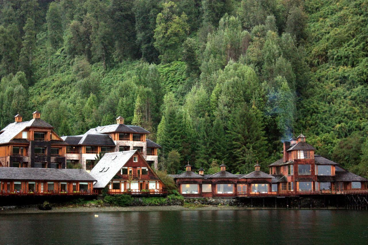 Vista do Puyuhuapi Lodge & Spa, em Puyuhuapi, na Patagônia chilena Saiba mais (foto: Eduardo Vessoni)