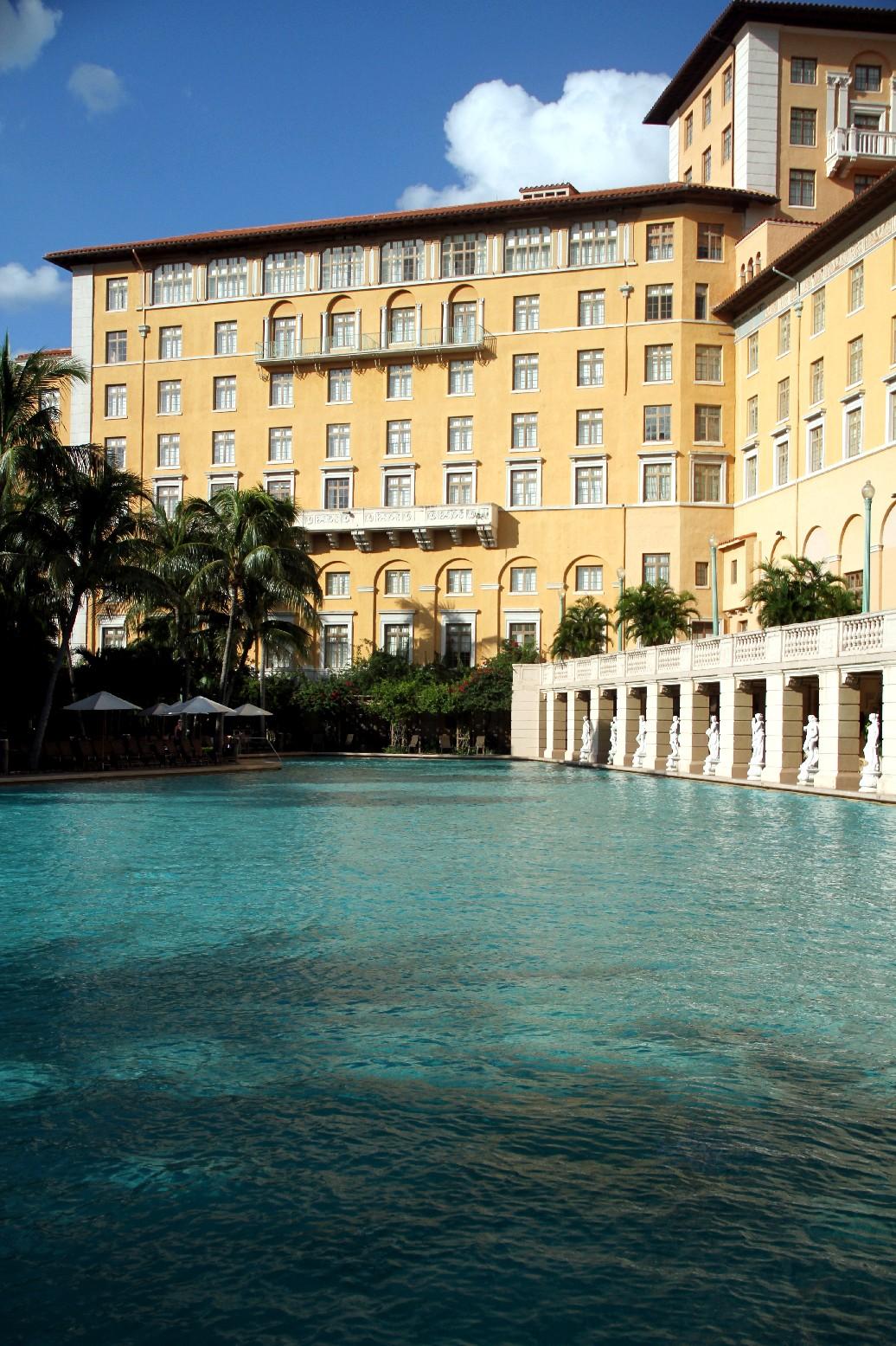 Piscina do Biltmore, em Miami (foto: Eduardo Vessoni)