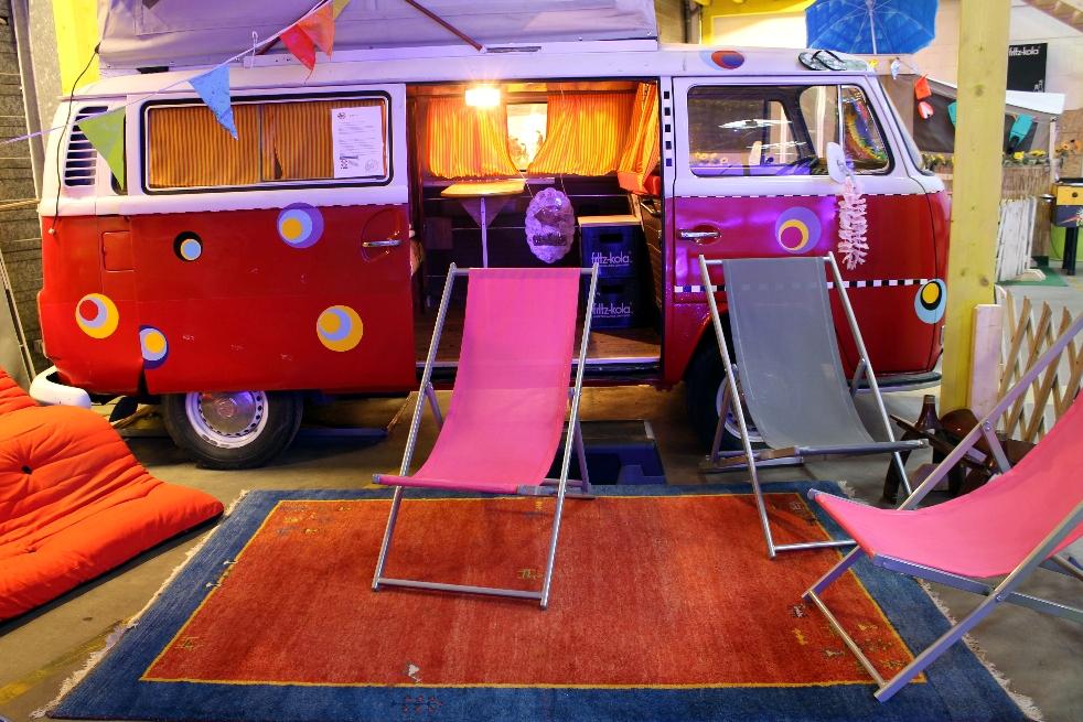 Trens e trailers s o op es inusitadas de hospedagem em for Dormitorio anos 60