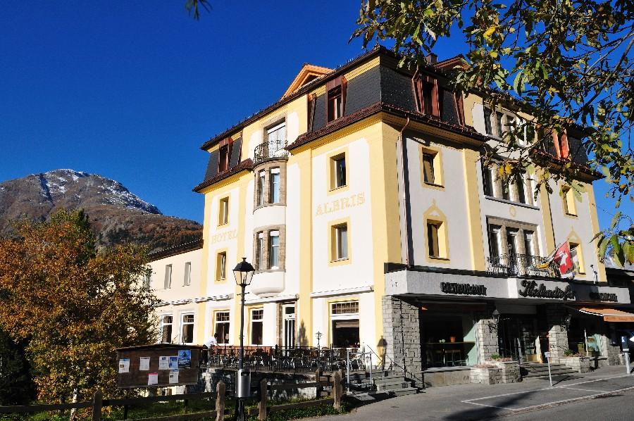 """Hotel Albris, em Pontresina, vencedor na categoria """"Estâncias de férias de pequeno porte (foto: Divulgação)"""