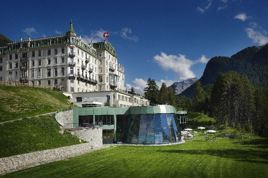 """Grand Hotel Kronenhof, em Pontresina, vencedor na categoria """"Hotéis de luxo (5 estrelas / 5 estrelas superior) (foto: Divulgação)"""
