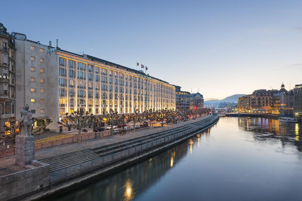 """Mandarin Oriental, em Genebra, vencedor na categoria """"Hotéis urbanos de luxo"""" (foto: Divulgação)"""