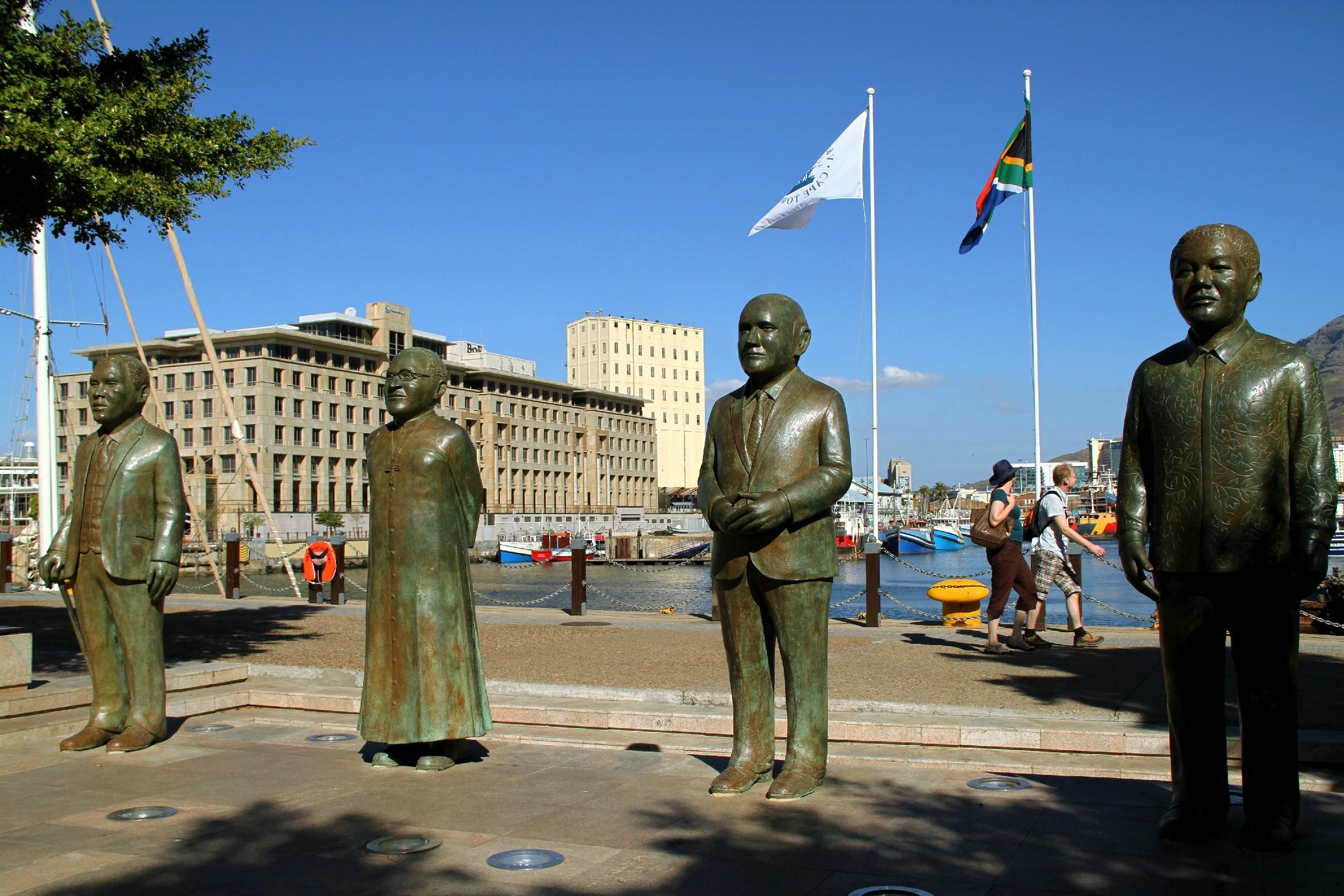 Mandela Square, na Cidade do Cabo