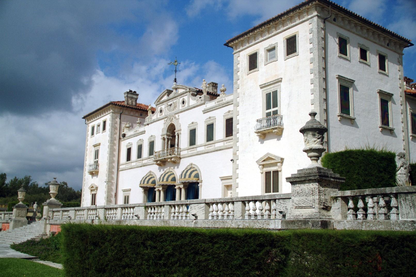 Museu Vizcaya, em Miami (foto: Eduardo Vessoni)