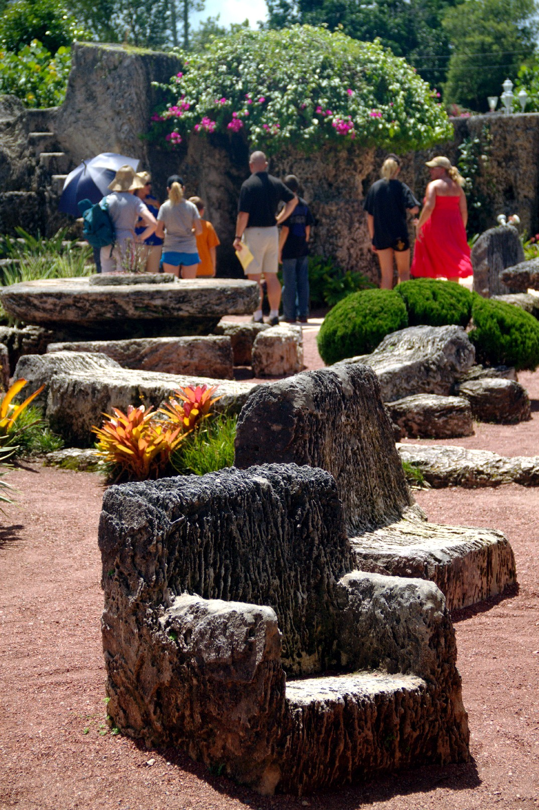 Coral Castle, em Homestead (foto: Eduardo Vessoni)