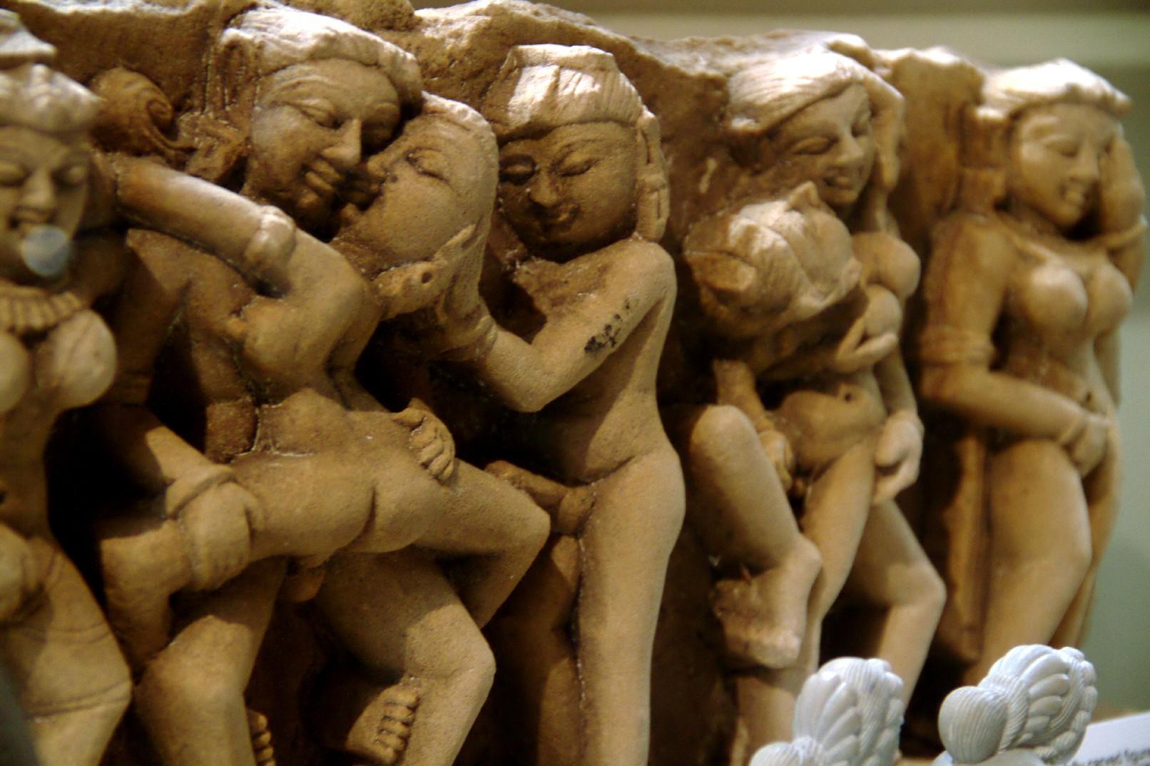 Detalhe de umas das peças do World Erotic Art Museum, em Miami (foto: Eduardo Vessoni)