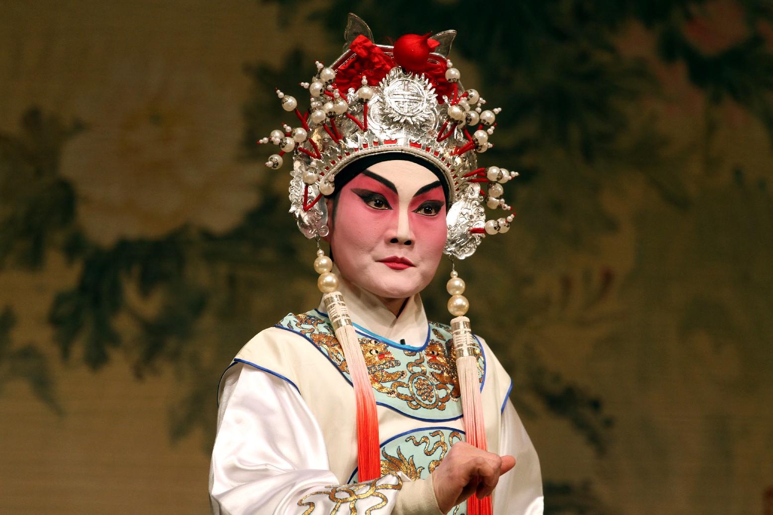 Ópera cantonesa (foto: Eduardo Vessoni)