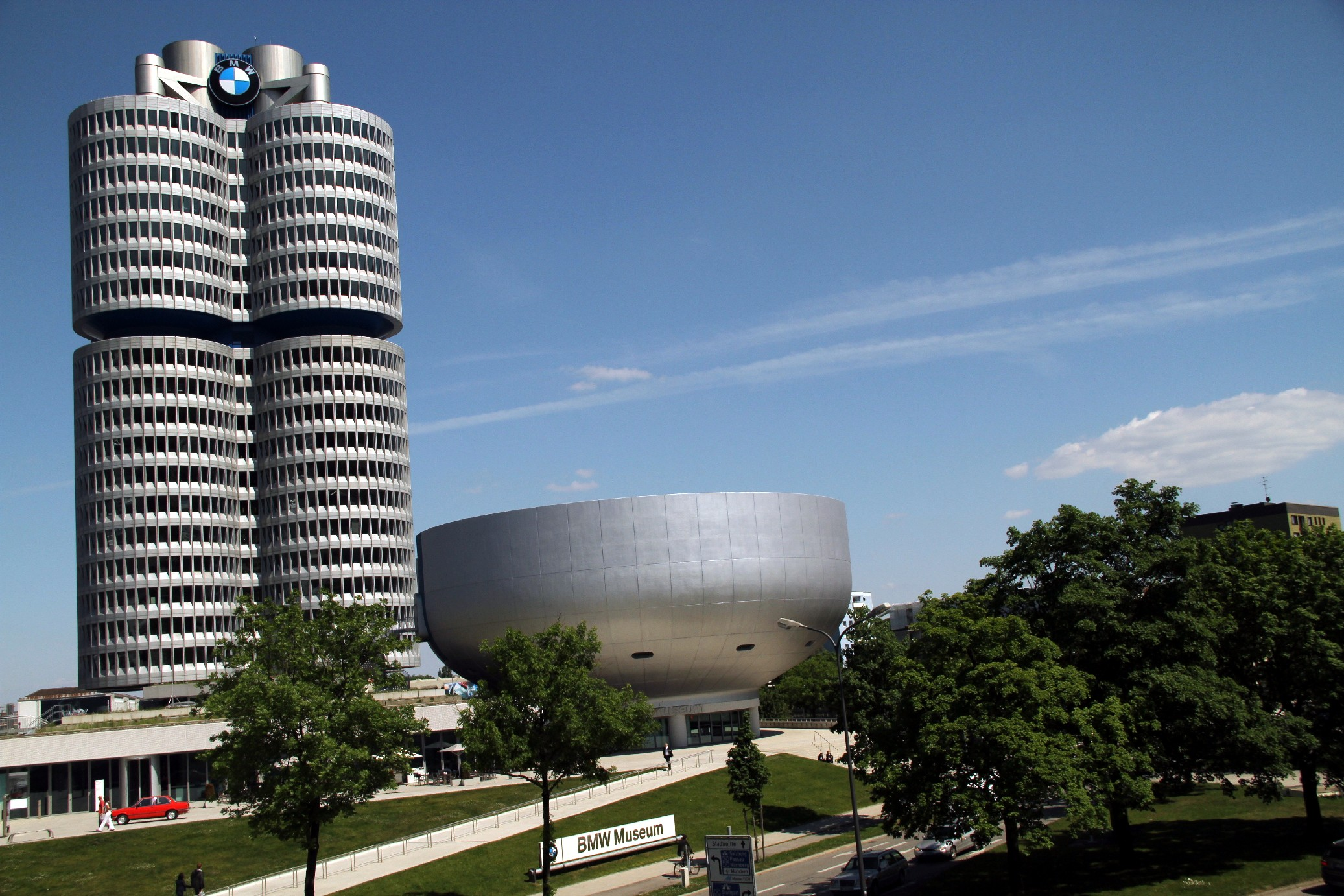 Museu da BMW, em Munique (foto: Eduardo Vessoni)