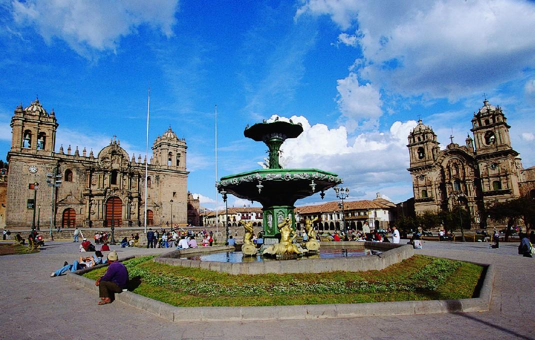 Plaza de Armas, no centro histórico de Cusco (foto: Promperú/Divulgação)