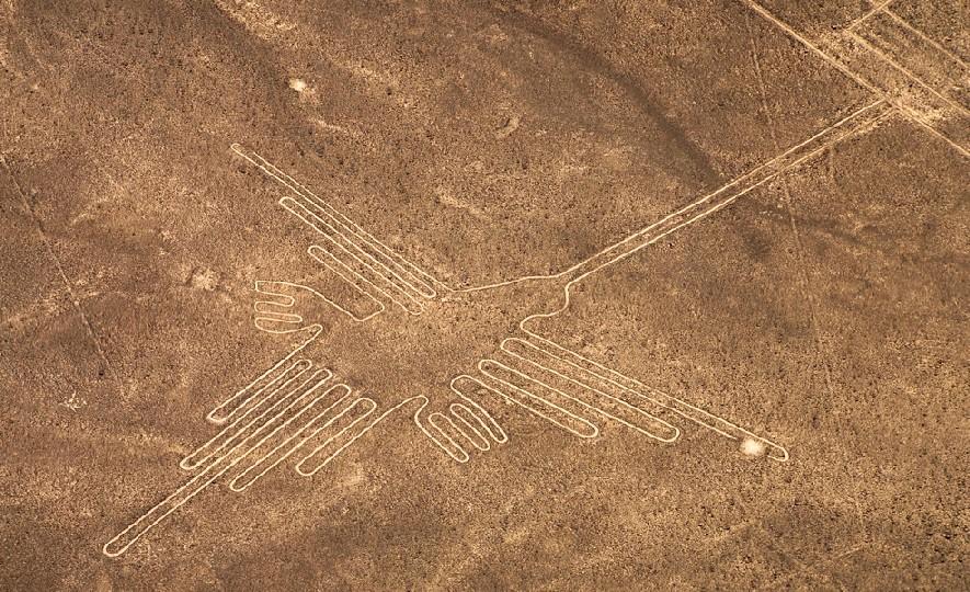 As Linhas de Nazca são a atração mais conhecida (e misteriosa) do centro-sul do Peru (foto: Promperú/Divulgação)