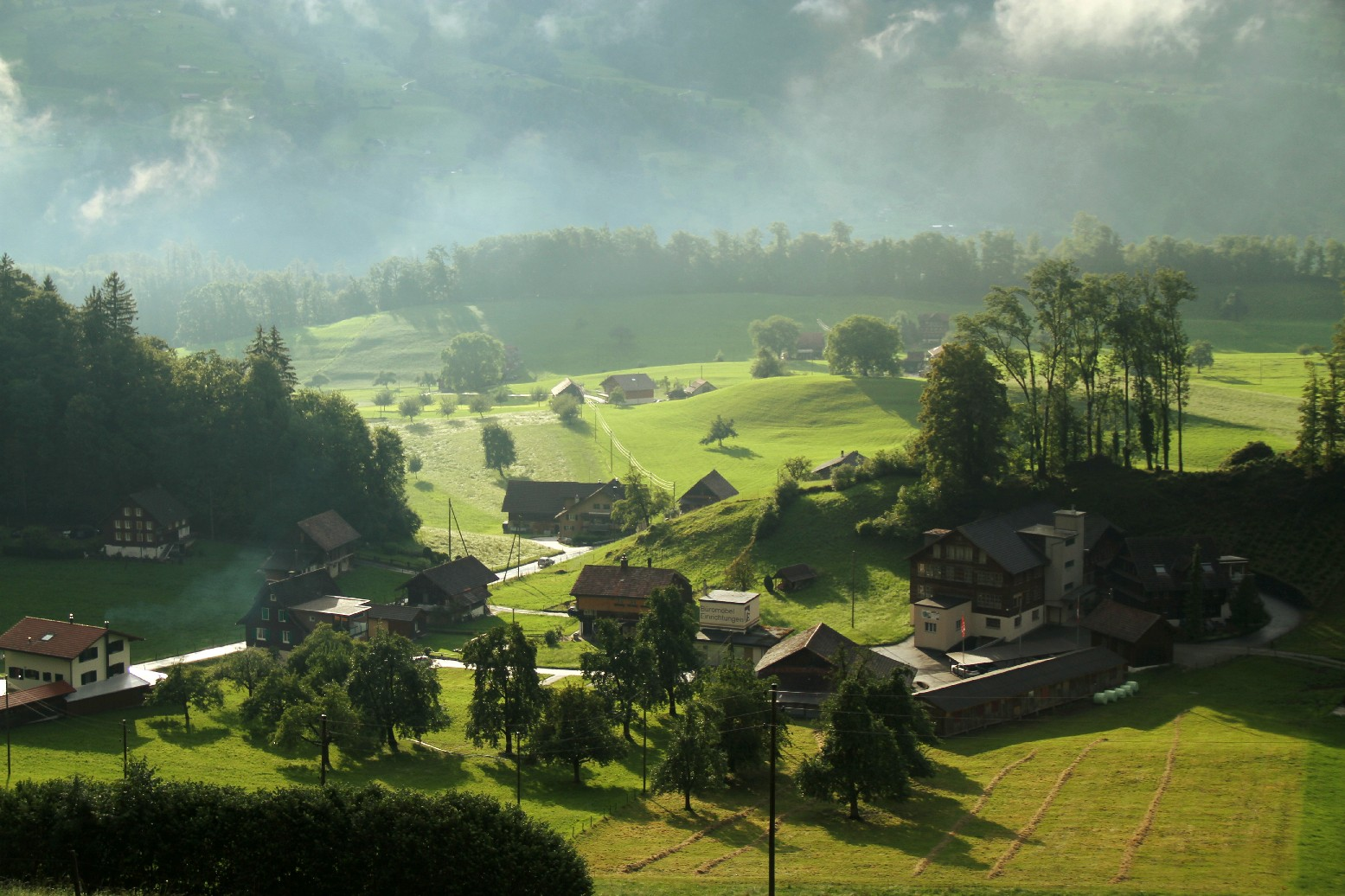 Vale de Obwalden, na Suíça