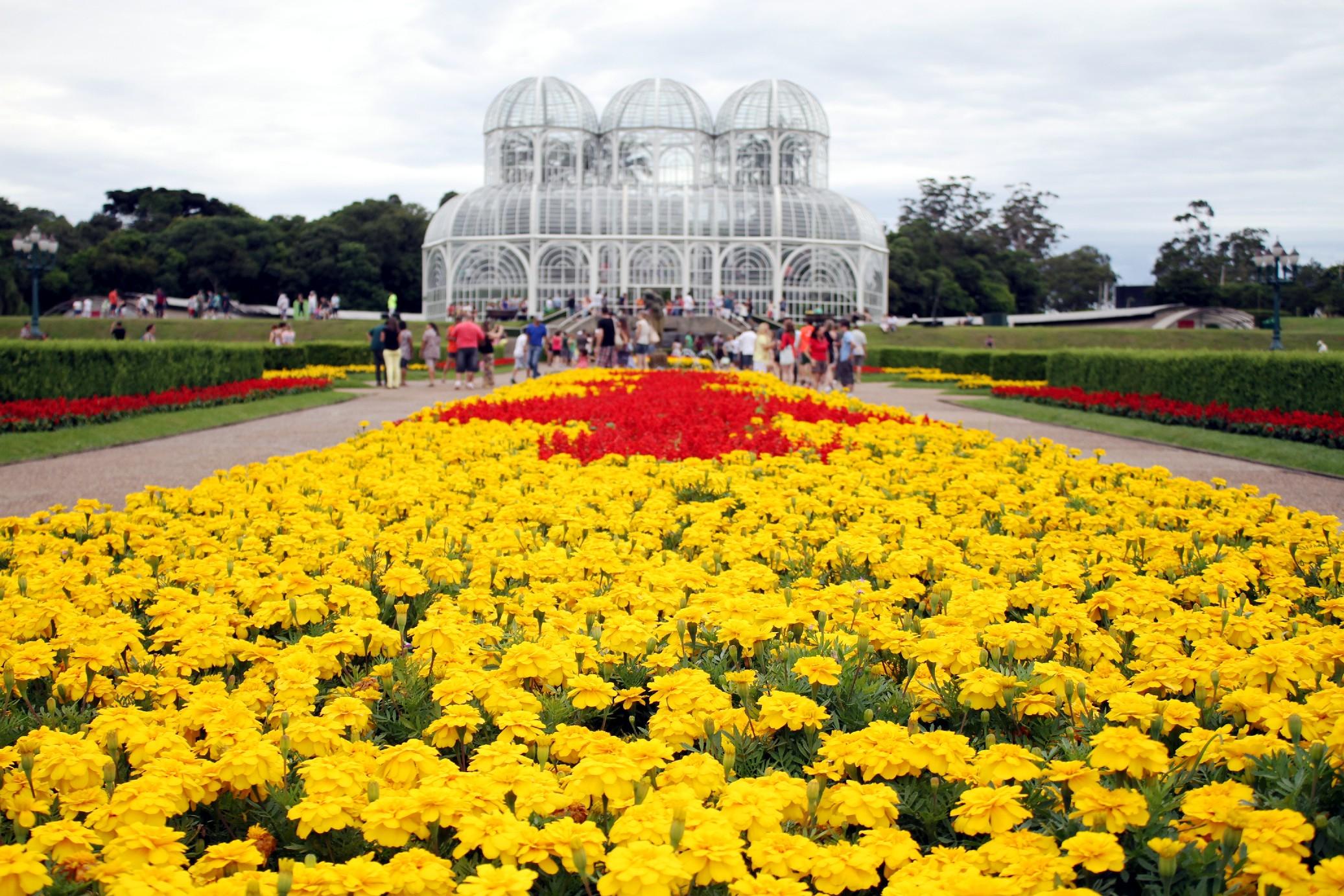 Jardim Botânico de Curitiba (foto: Eduardo Vessoni)