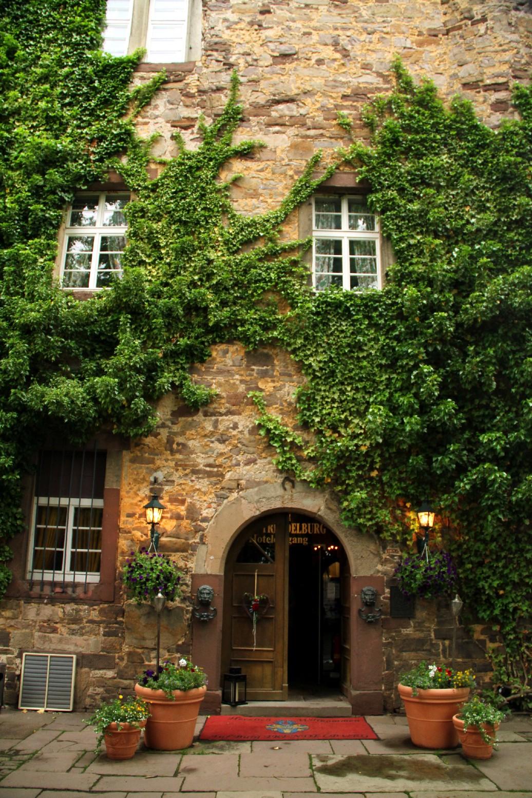 Entrada do Hotel Burg Sababurg, no castelo original da Rapunzel (foto: Eduardo Vessoni)