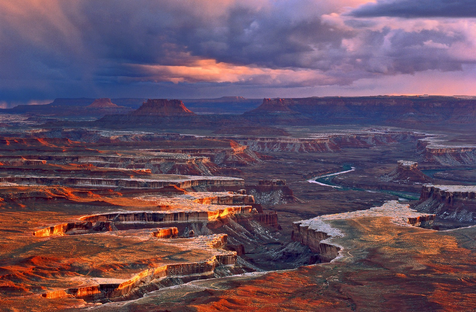 Canyonlands National Park, em Utah (foto: Utah Office of Tourism / Tom Till)