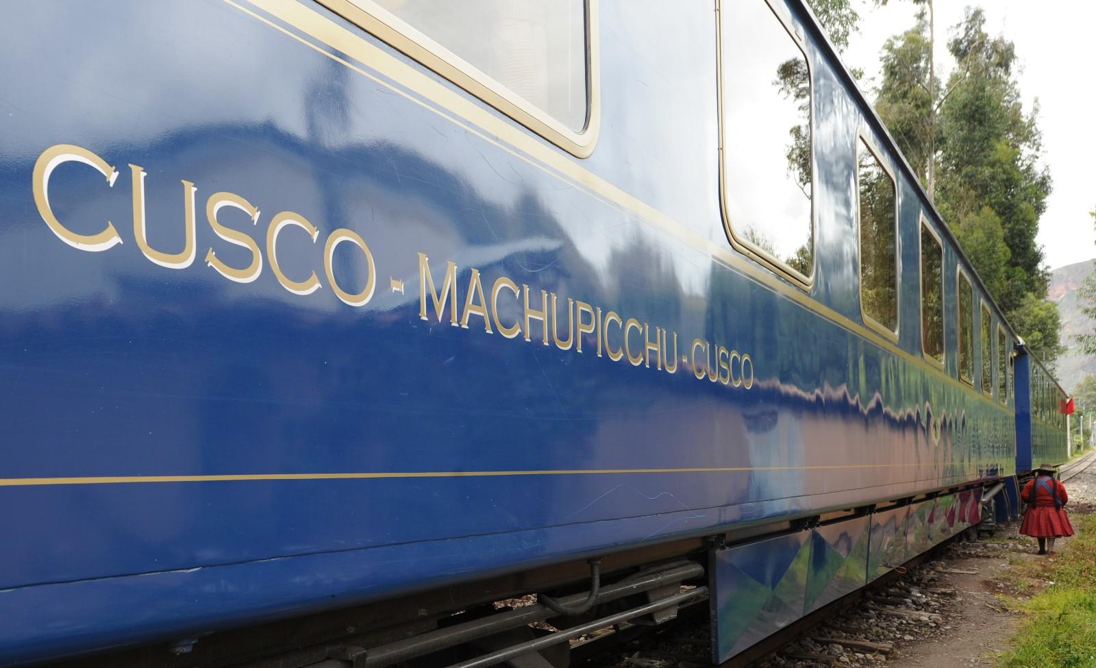 A rota de trem de Cusco a Machu Pichu é um dos roteiros mais tradicionais da América do Sul e é operada pelo The Belmond Hiram Bingham (foto: Divulgação) www.belmond.com
