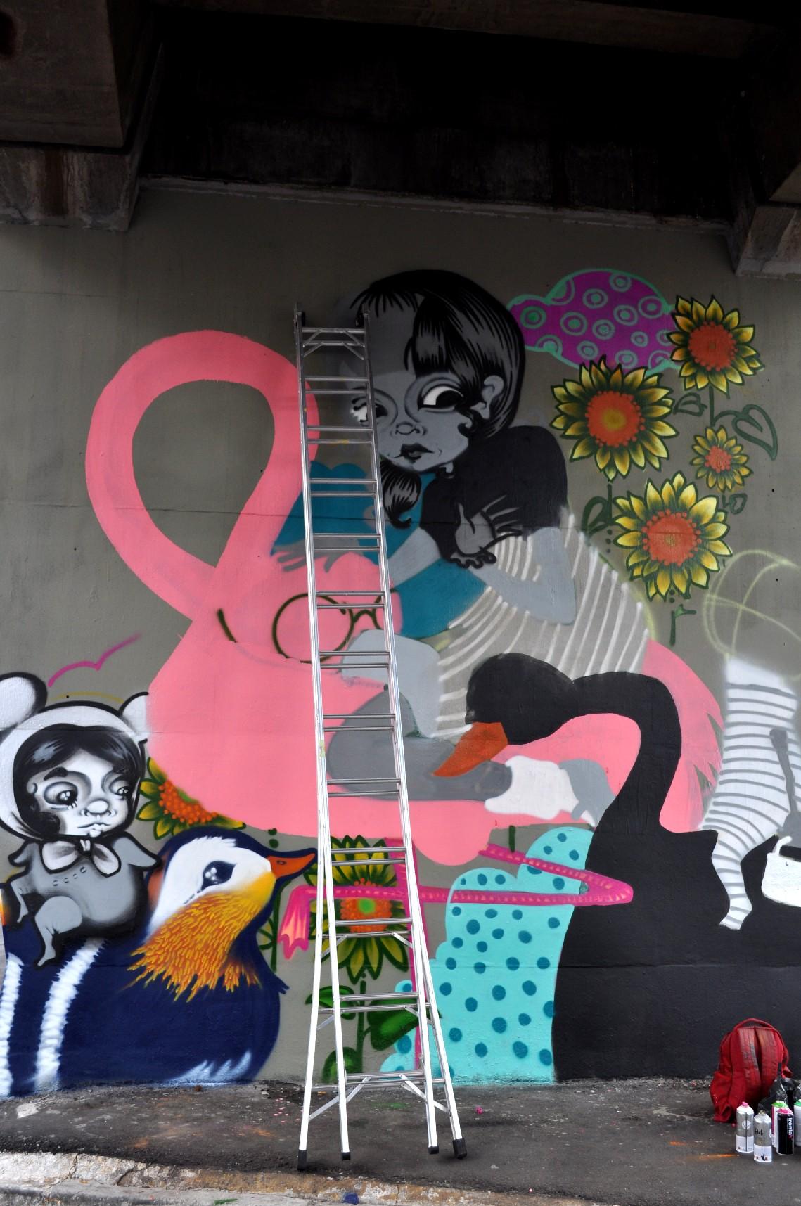 Obra da artista Tikka Meszaros (foto: Tikka Meszaros / Flickr Creative Commons)