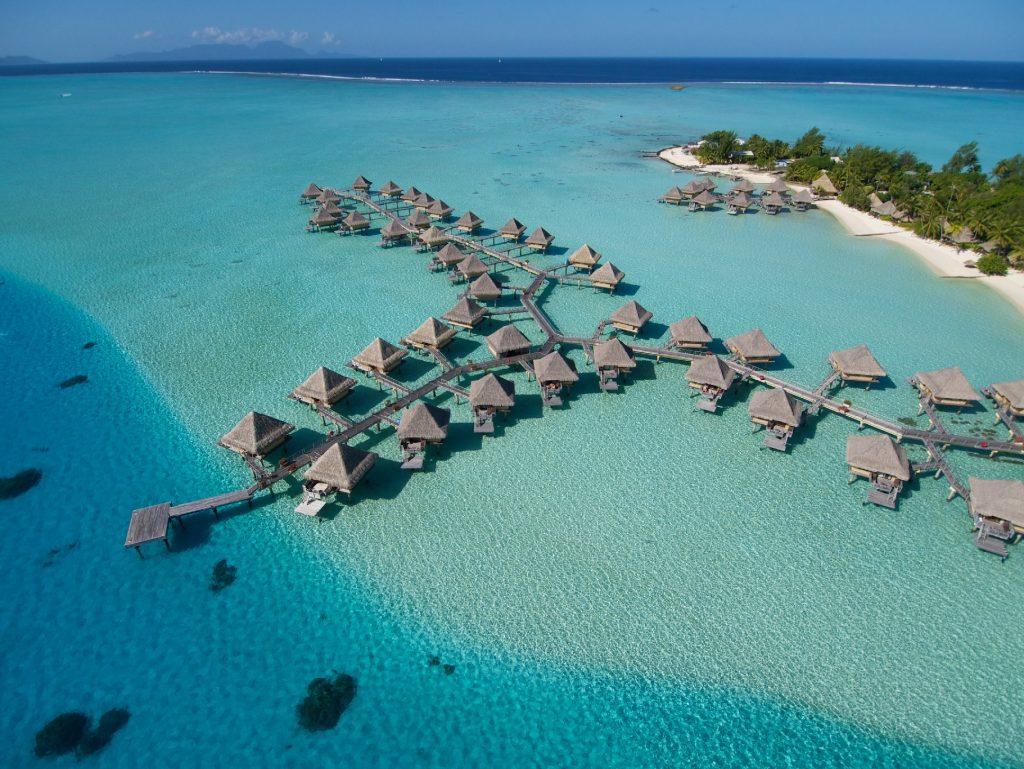 Intercontinental Le Moana, em Bora Bora, na Polinésia Francesa (foto: Trivago/Divulgação)