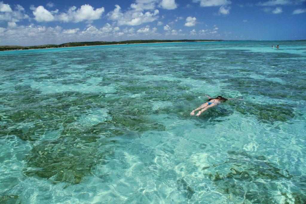 Croa da Barra Grande, uma das piscinas naturais da Costa dos Corais (foto: Eduardo Vessoni)