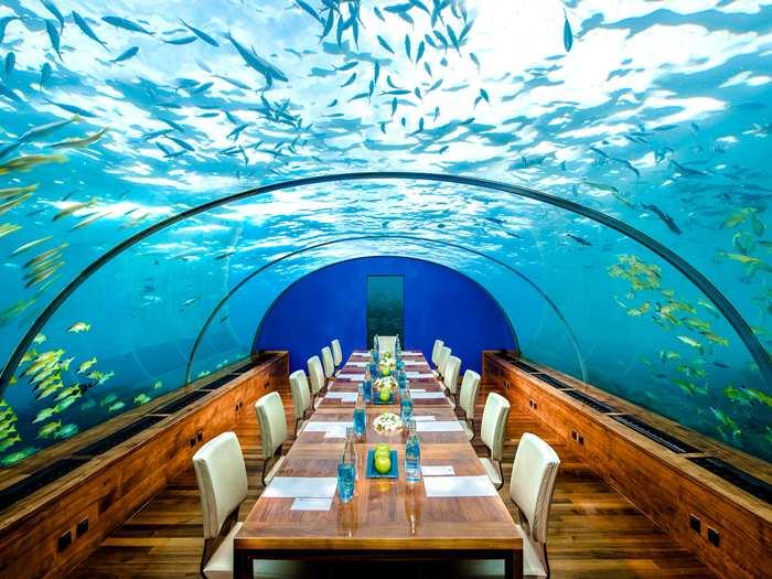 Conrad Maldives Rangali Island, na Ilha Rangali, nas Maldivas (foto: Divulgação)