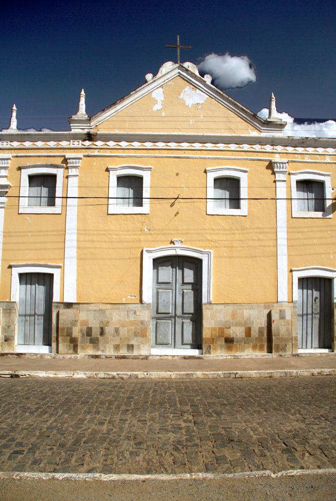 Igreja do Rosário, em Cabaceiras (foto: Eduardo Vessoni)