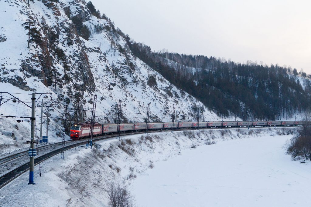 Vista da Transiberiana (foto: Russian Railways;/Divulgação)