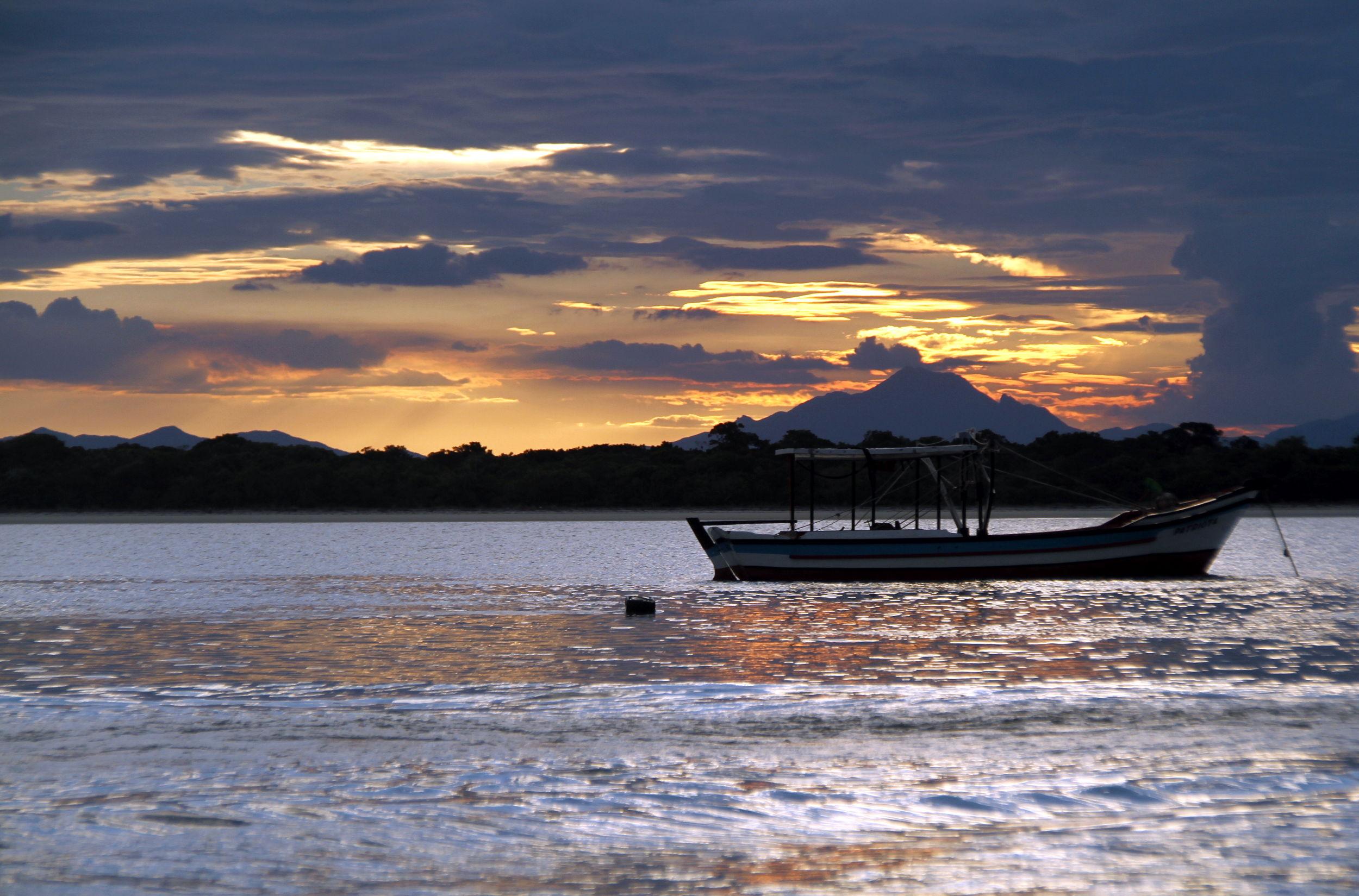 Praia de Superagui, no litoral do Paraná (foto: Eduardo Vessoni)