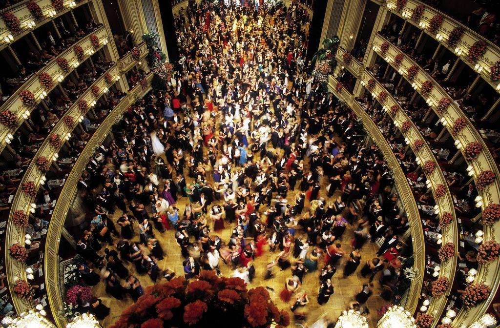 Vista do Opernball, Baile da Ópera de Viena (foto: Wien Tourismus/MAXUM)