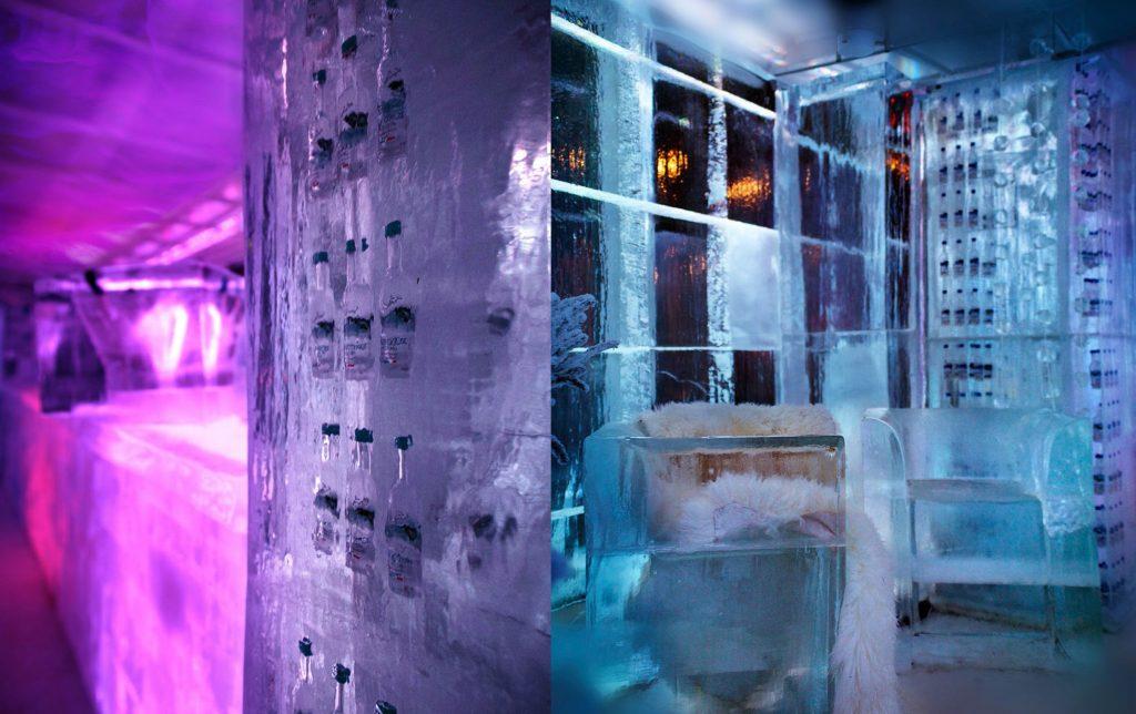Ice Kube Bar localizado no interior do Kube Hotel, em Paris (foto: Divulgação)
