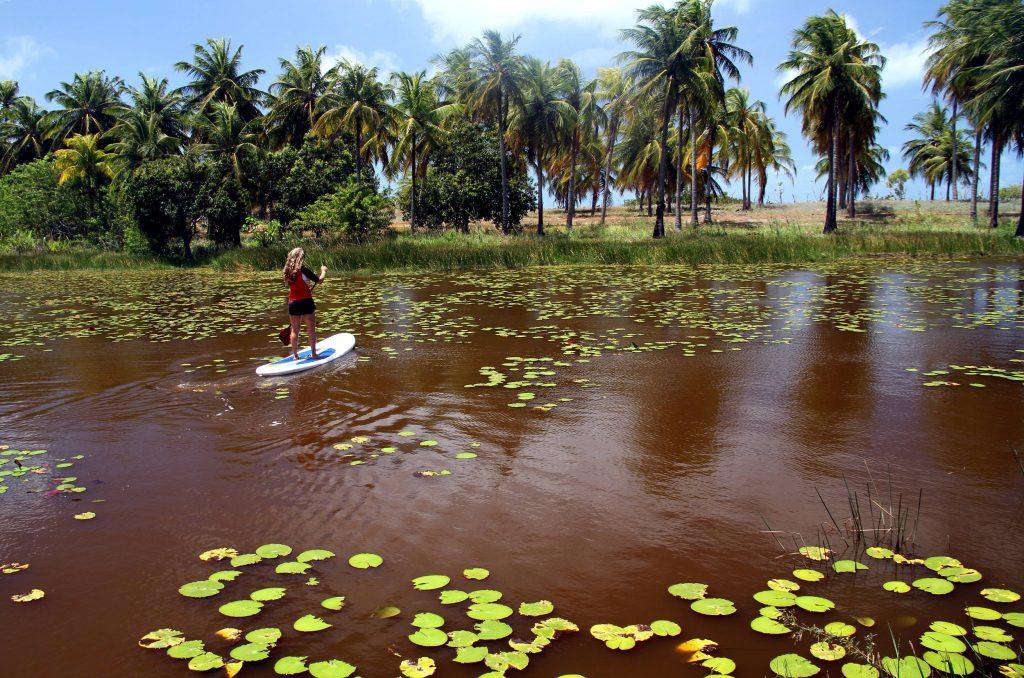 Stand Up Paddle, em São Miguel do Gostoso (foto: Eduardo Vessoni)