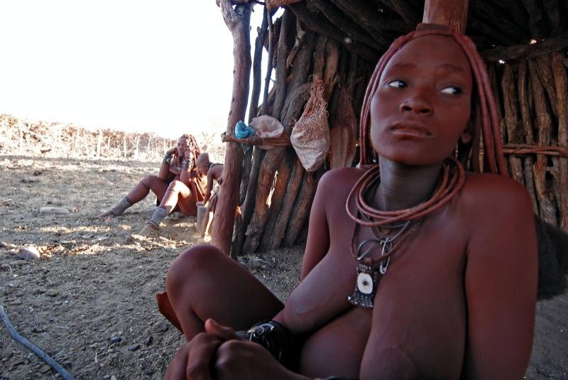 Mulher Himba, na Namíbia (foto: Ilan Molcho/Flickr - Creative Commons)