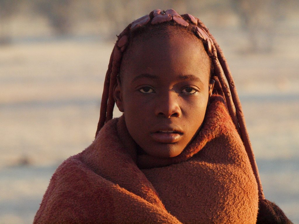 Mulher Himba, na Namíbia (foto: Gusjer/Flickr - Creative Commons)