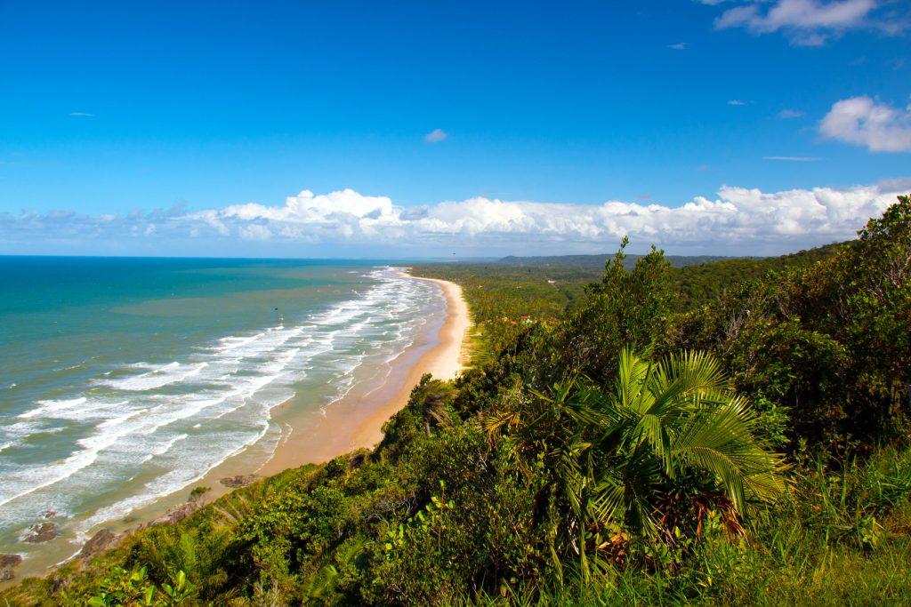 Praia da Tiririca, point de surfistas em Itacaré, no litoral sul da Bahia (foto: Felipe Reis/Flickr - Creative Commons)