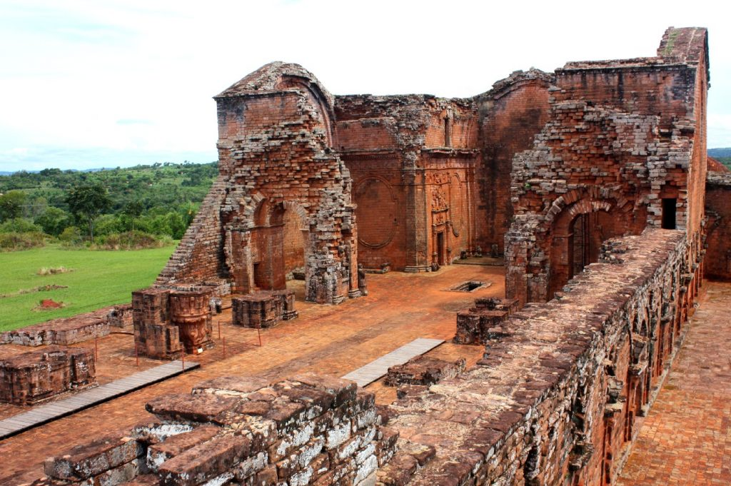Santísima Trinidad, no sul do Paraguai, é um dos destaques arquitetônicos do roteiro das Reduções Jesuíticas que abriga construções do século 16 (foto: Eduardo Vessoni)