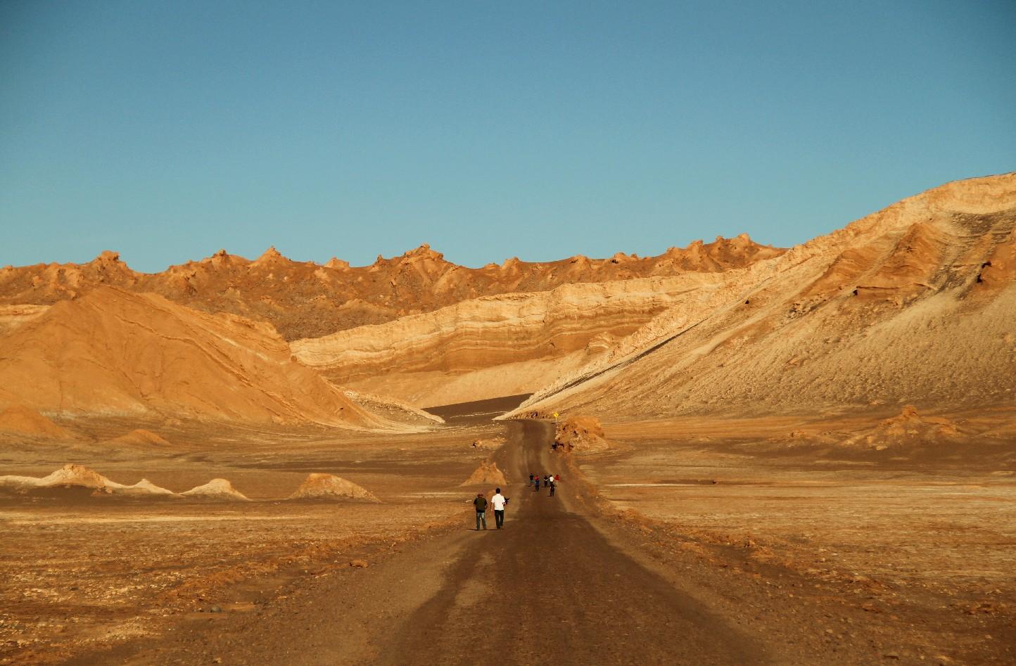 Valle de la Luna, no Atacama (foto: Eduardo Vessoni)
