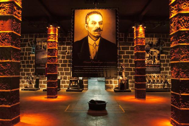 Museu de máquinas antigas da Peterlongo, em Garibaldi (foto: Divulgação)