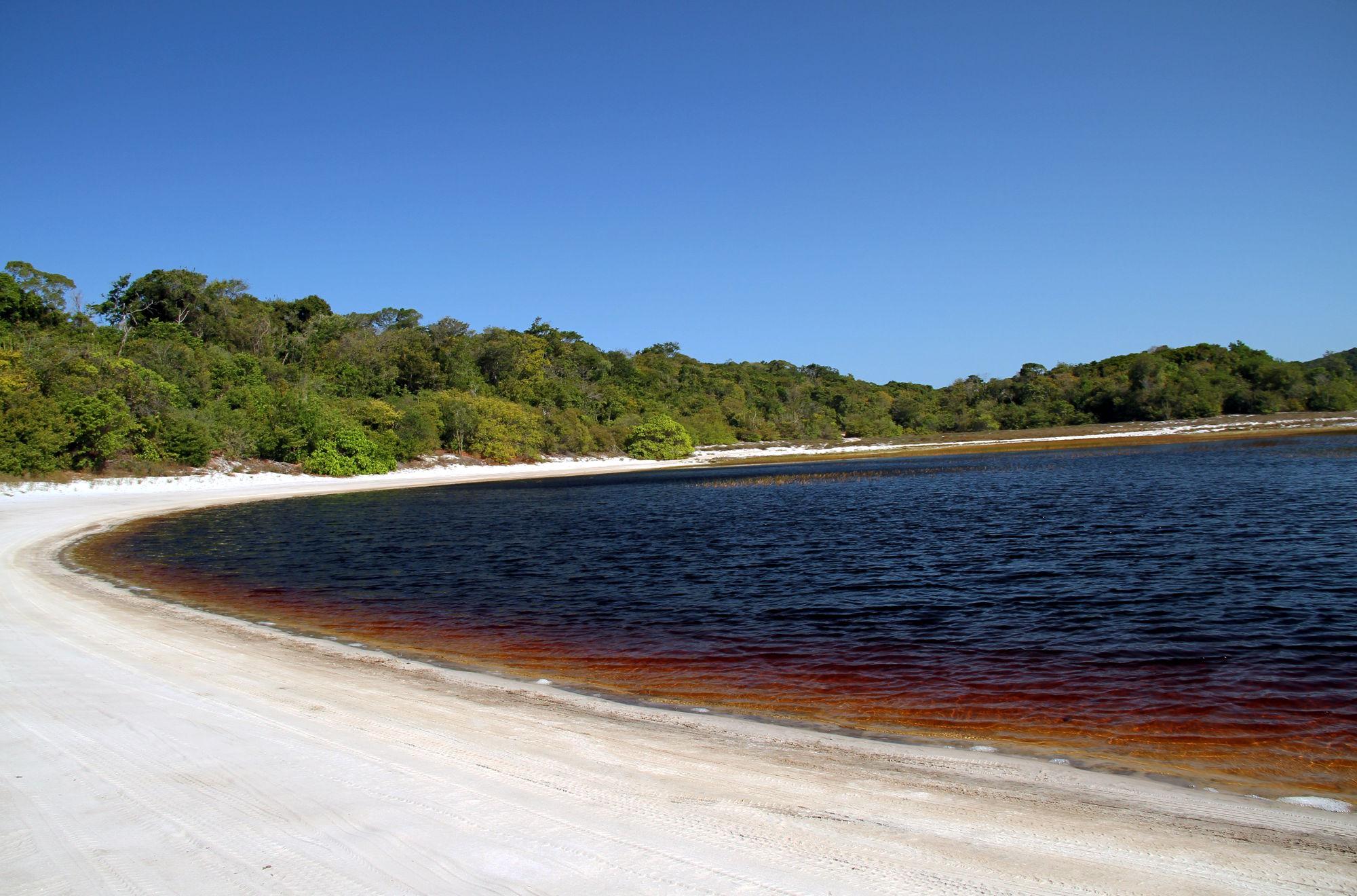 Lagoa da Coca Cola, em Baía Formosa (foto: Eduardo Vessoni)