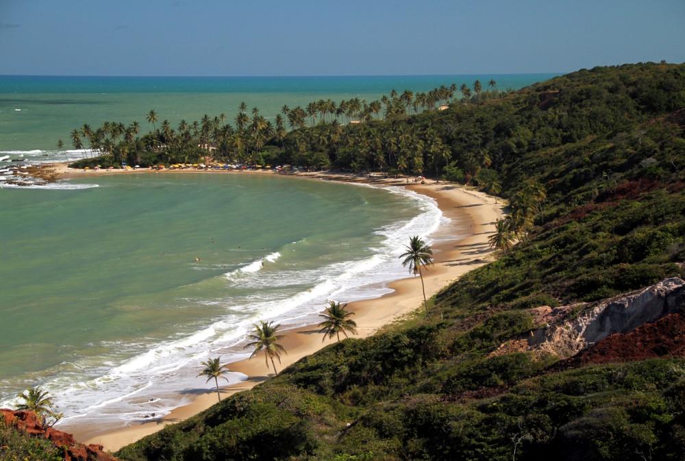 Praia de Coqueirinho, em Conde, na Paraíba (foto: Eduardo Vessoni)