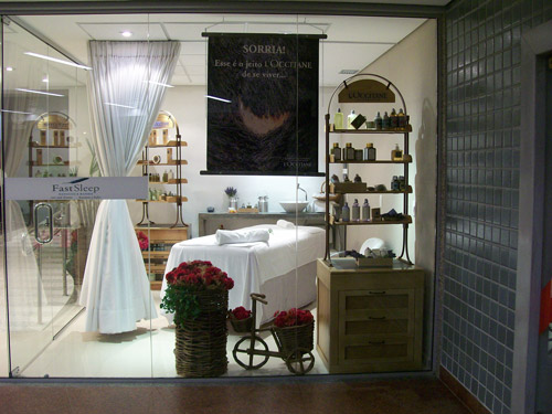 foto: The Traveller Spa by L'occitane/Divulgação