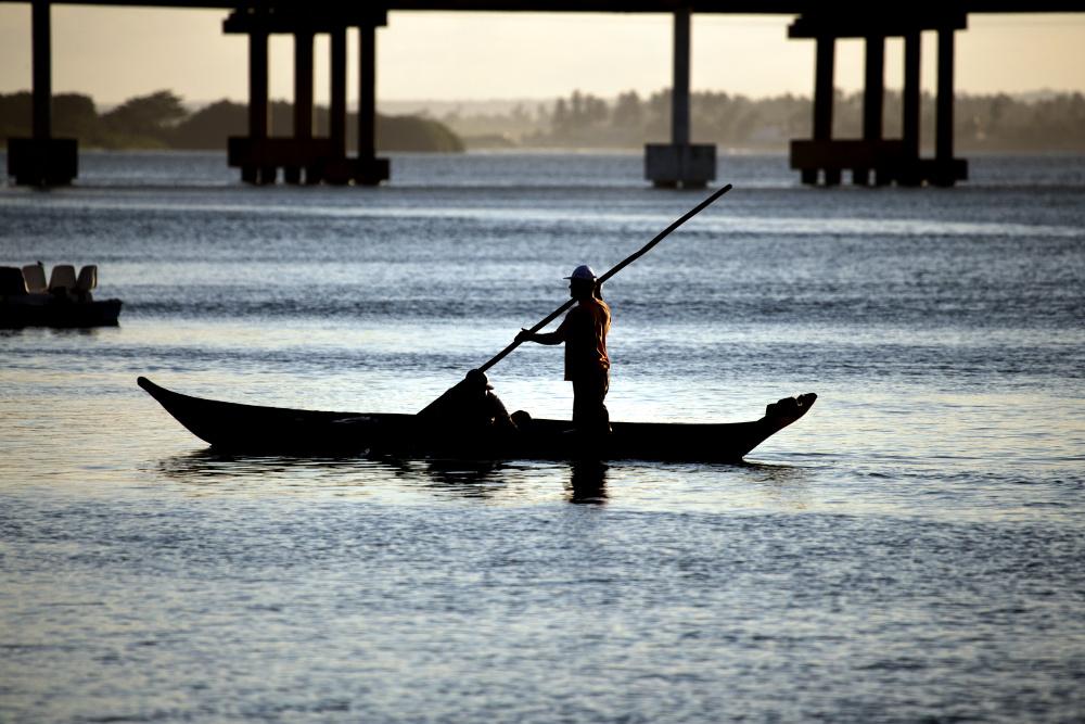 Lagoa do Mundaú, no limite entre Maceió e o litoral sul de Alagoas (foto: Semptur Maceió/Divulgação)