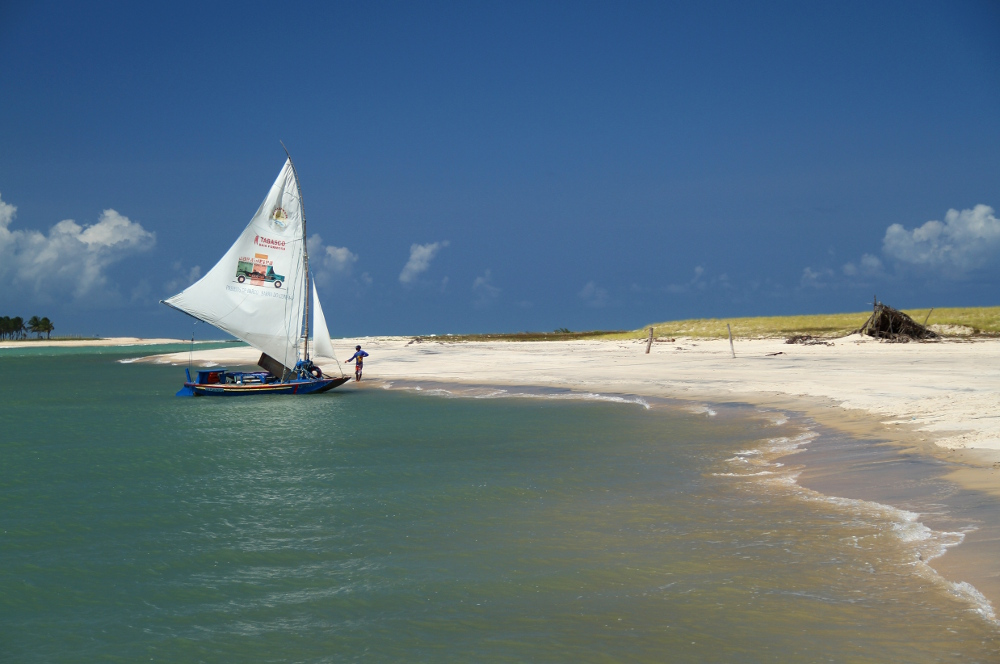 Barra do Cunhaú (foto: Eduardo Vessoni)
