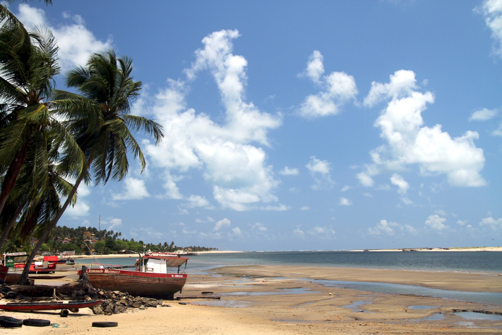 Barra do Cunhaú (foto: Eduardo Vessoni)